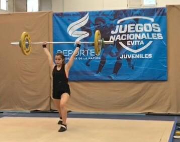 Lola Lopez Campeona Nacional En Los Juegos Evita Club San Jorge